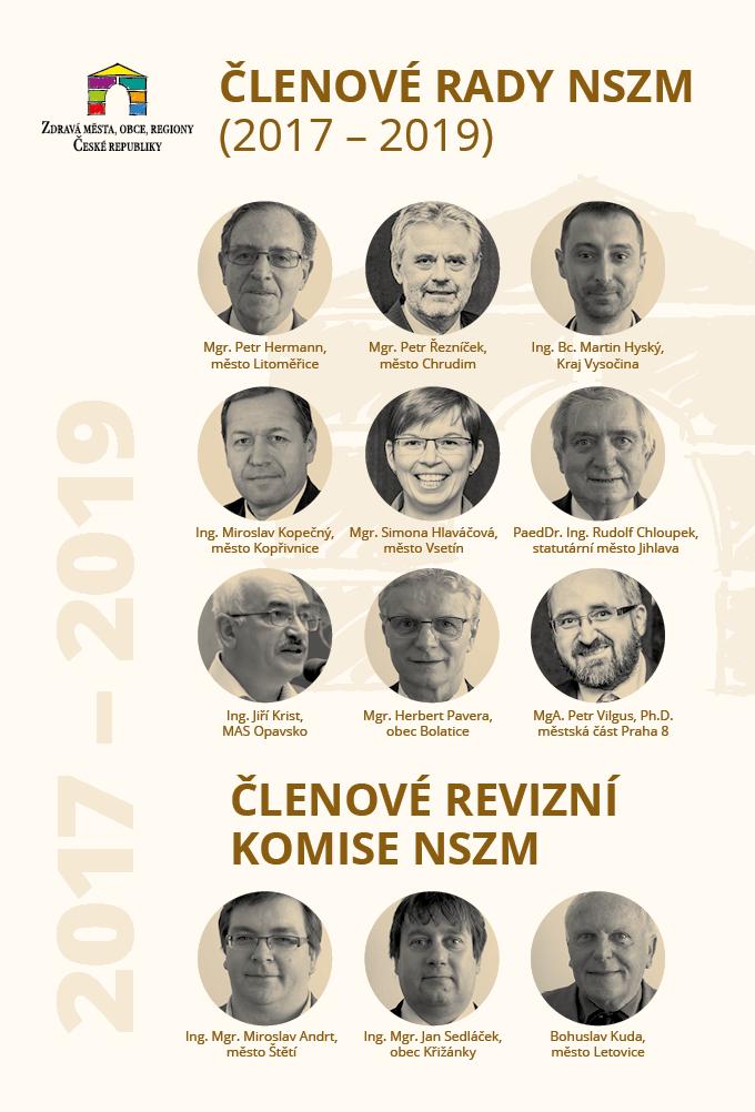 Členové rady NSZM