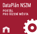 Datapl�n - modern� ��zen� m�st, obc� a region�